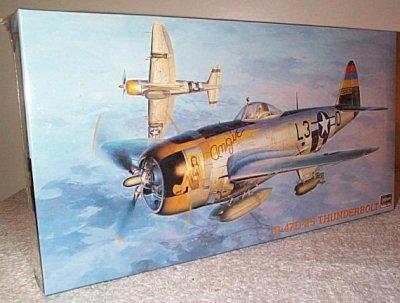 P-47D-25 Thunderbolt Hasegawa Hobby Kit