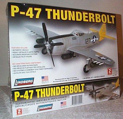 P-47 Thunderbolt Model Kit