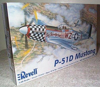 P-51D Mustang Model Kit