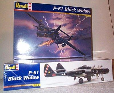 P-61 Black Widow WW II Aircraft Model Kit