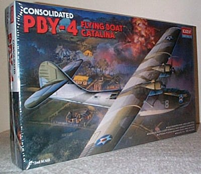 PBY-4 Catalina Flying Boat Model Kit