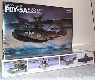 PBY-5A Black Cat Catalina Model Kit