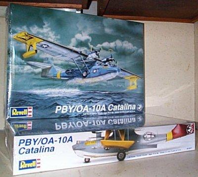 PBY/OA-10A Catalina Flying Boat Model Kit