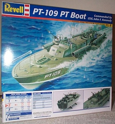 PT-109 World War II PT Boat Model Kit