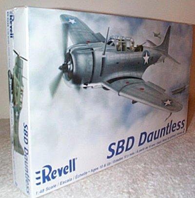 SBD Dauntless WW II Dive Bomber