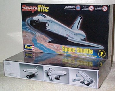 Space Shutt;e Snap Tite Model Kit