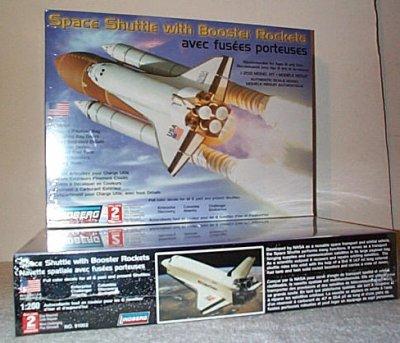 Space Shuttle w/Booster Rockets