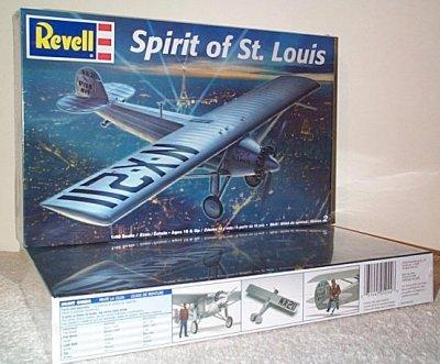 Spirit Of St. Louis Model Kit
