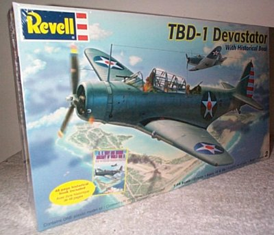 TBD-1 Devastator w/Historical Book