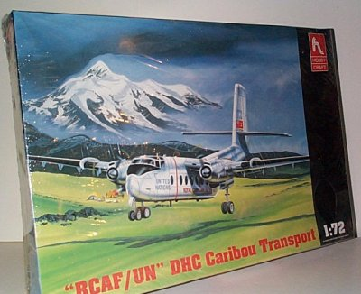 UN/RCAF Caribou Plastic Model Kit