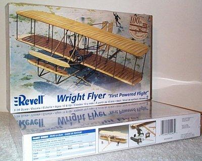 Wright Flyer Plastic Model Kit