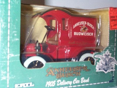 Anheuser-Busch '05 Delivery Car Bank # 10