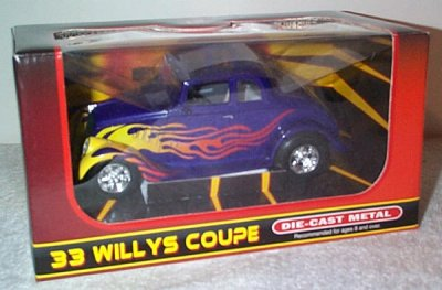 '33 Willys Coupe Fast Willys St.Rod Bank
