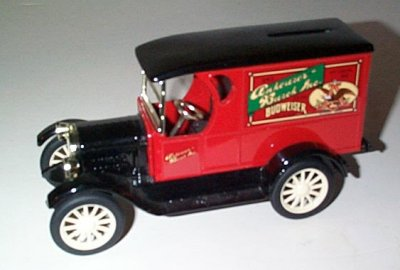 Anheuser-Busch '23 Chevrolet  Panel Truck Bank