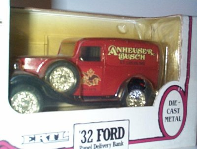 Anheuser-Busch '32 Ford Panel Bank Issue # 4