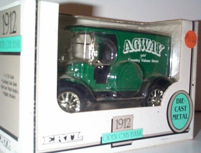 Agway 1912 Ford Model T Open Van # 7