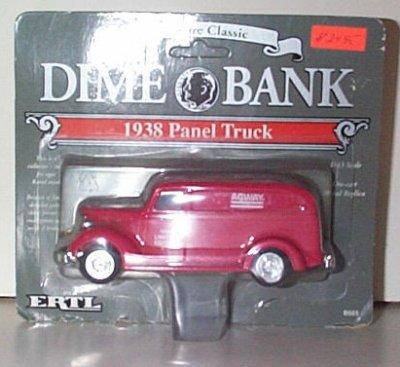 Agway 1938 Chevrolet Panel Dime Bank # 4