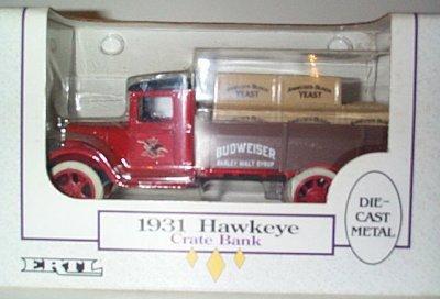 Anheuser-Busch Yeast '31 Hawkeye w/Crates # 7