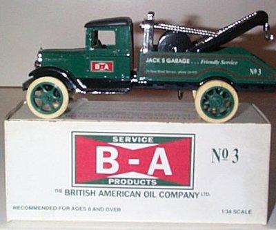 B-A Oil Co. '31 Hawkeye Wrecker Issue # 3