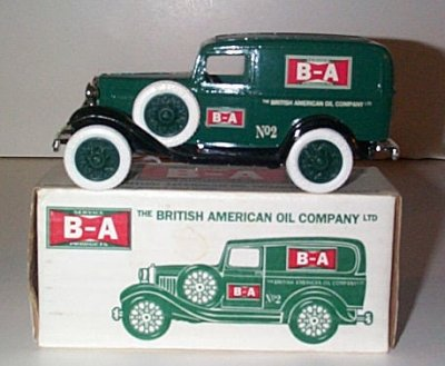 B-A Oil 1932 Ford Panel Truck Bank Issue # 2