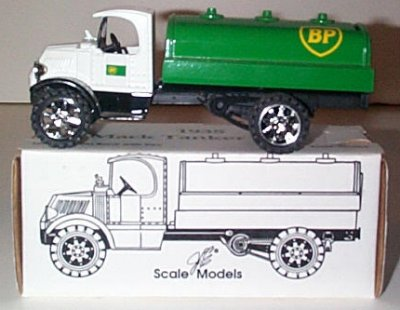 BP Oil '35 Mack Bull Dog Tanker Truck Bank