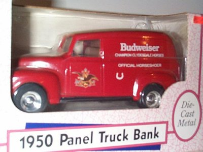 Budweiser Official Horseshoer '50 Chevrolet #