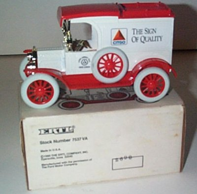 Citgo '13 Ford Model T Van Bank Issue #1