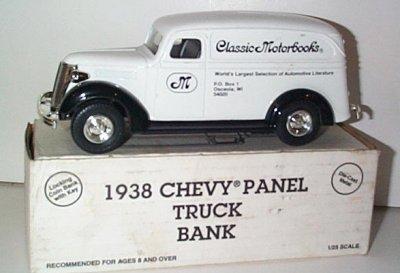 Classic Motorbooks '38 Chevrolet Panel