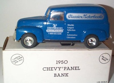 Classic Motorbooks '50 Chevrolet Bank # 1