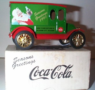 Coca-Cola 1920 International Van Bank (Mistake)