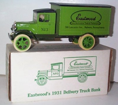 Eastwood '31 Hawkeye Truck Bank Issue # 3