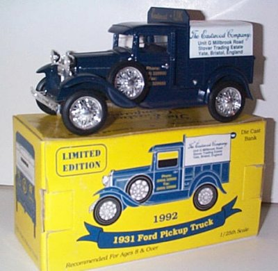 Eastwood Auto. U.K. '31 Ford Model A # 1
