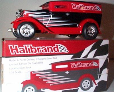 Halibrand Model A Van Street Rod Bank # 11