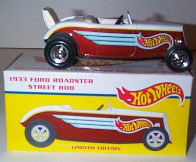 Hot Wheels '33 Ford Street Rod Roadster