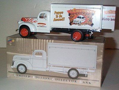 Joie Chitwood '42 Chevy 1 1/2 Ton Van Bank