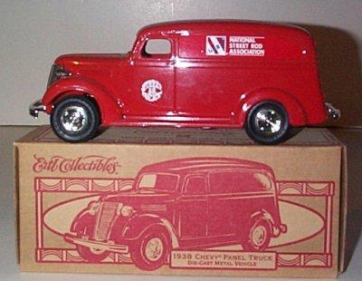 NSRA 1938 Chevrolet Panel Truck Bank # 4