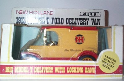New Holland Model T Delivery Van Bank
