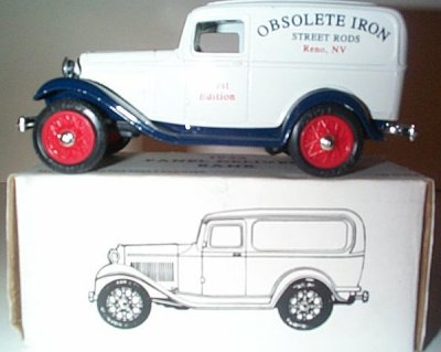 Obsolete Iron Street Rods '32 Ford Panel Bank