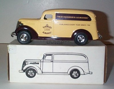 Old Farmers Almanac'38 Chevrolet Panel # 3