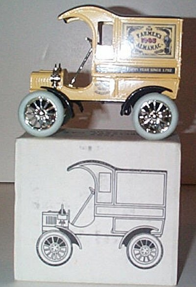 Old Farmers Almanac '05 Ford Delivery Car