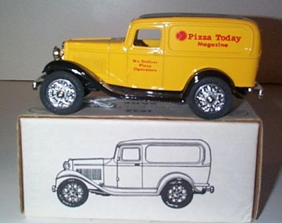 Pizza Today Magazine '32 Ford Panel Truck Bank