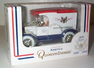 America Q/Centennial '13 Model T Van Bank