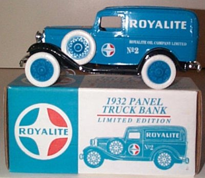 Royalite Oil Co. '32 Ford Panel Issue # 2