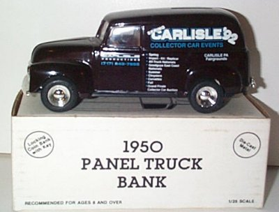 Spring Carlisle '92 '50 Chevy Panel Truck
