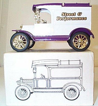 Street & Performance '13 Model T Van Bank