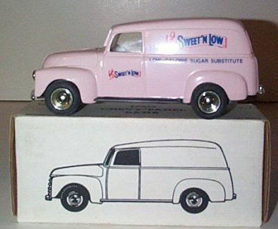 Sweet'n Low '50 Chevrolet Panel Truck Bank