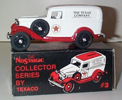 Texaco '32 Ford Panel Truck Bank Issue # 3