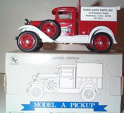 Town Auto Parts Ford Model A Pickup Bank