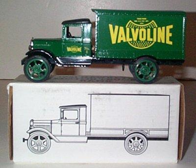 Valvoline '31 Hawkeye Freight Van Bank # 5