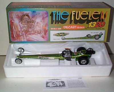 Beebe & Mulligan Fighting Irish Fuel Dragster